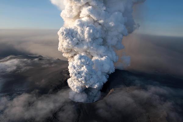 le volcan eyjafjallajökull
